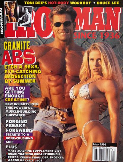 1996 IRONMAN MAGAZINE