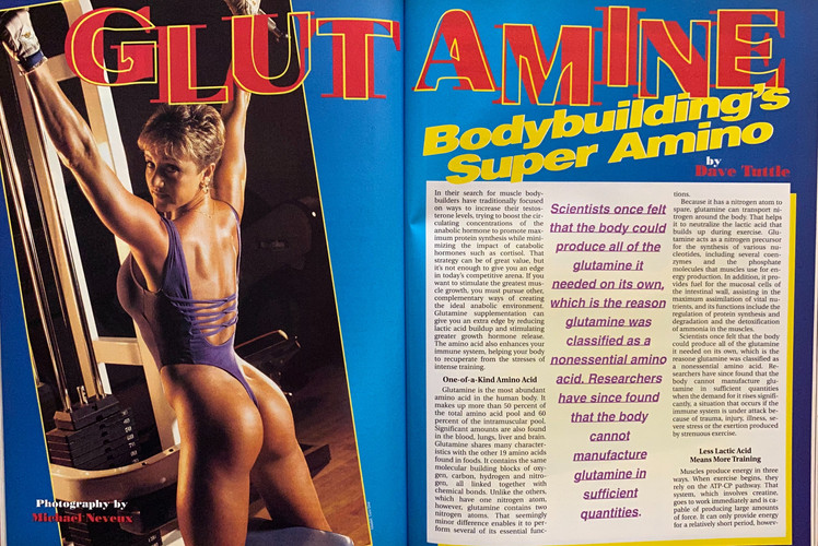 Glutamine Article