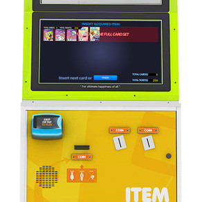 Andamiro Ships The Redeem Machine; New Kiosk Processes Collectible Cards, Other Redemption Items