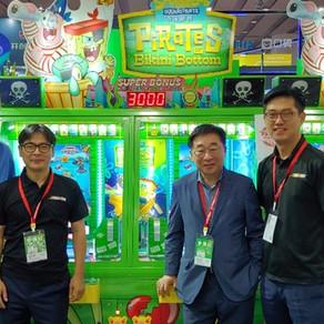 Andamiro Draws Big Crowds at 11th GTI Asia China Expo; Pirates of Bikini Bottom Arcade is Previewed