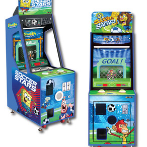 Andamiro Introduces Soccer Safari, a Compact Vending Game in Basic and SpongeBob Cabinets
