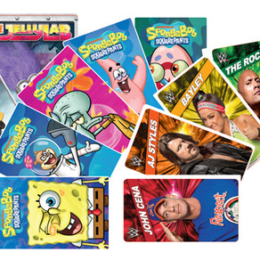 Make SpongeBob, Minions and WWE cards part of your new cleaning routine