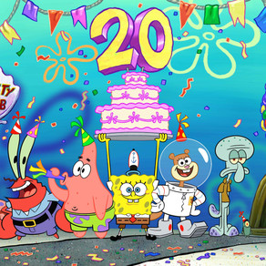 Nickelodeon Marks 20 Years of SpongeBob SquarePants with the 'Best Year Ever'