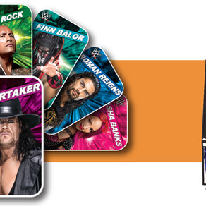 Andamiro USA's WWE Superstar Rumble promotion primes operators with 17 boxes of customized cards
