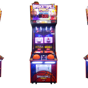 Andamiro introduces Basketball Pro for game rooms, sports bars and street locations