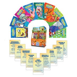 Jumping Jellyfish! Andamiro's New SpongeBob Cards Are Washing Up On Arcade Shores