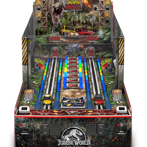 Andamiro USA and Firstlease offer 0% financing for Jurassic World: Fallen Kingdom as arcades reopen
