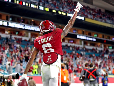 Devonta Smith is taking the world by storm. Who will draft the next NFL superstar?