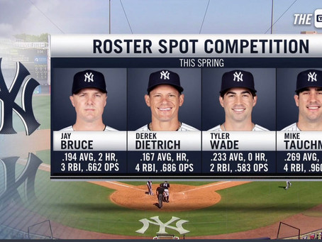 Who makes the cut? Making the case for the final Yankee bench spots.
