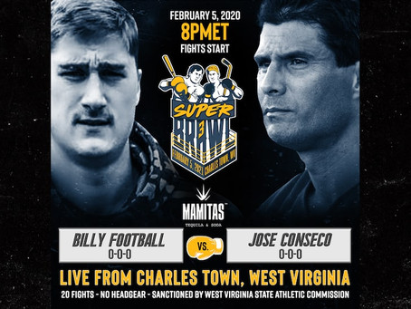 No Way Jose! The embarrassment continues for Canseco, as Billy Football wins by TKO at RoughnRowdy