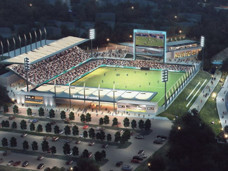 Tidewater Landing is gaining momentum. We are one step closer to pro-soccer in Rhode Island.