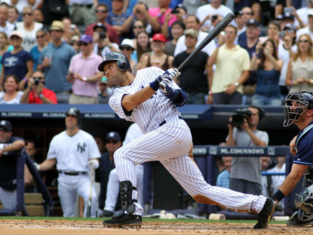 OTD: 10 years ago, Derek Jeter collects his 3,000th hit. Who's next in line for the 3k Club?