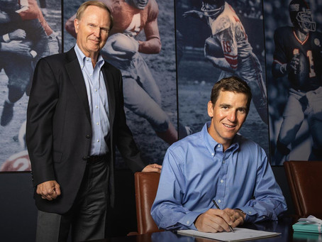 Who's back of the week? Eli Manning. The Giants welcome back the former QB in a special announcement