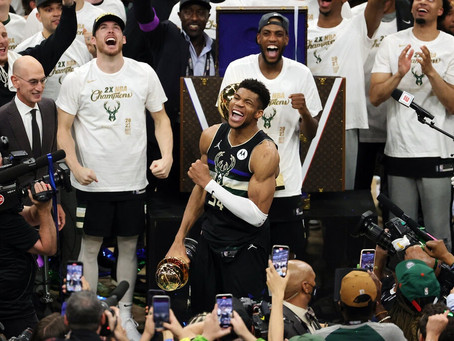 We're witnessing a generational talent in Giannis Antetokounmpo. He now adds Champion to his resume.