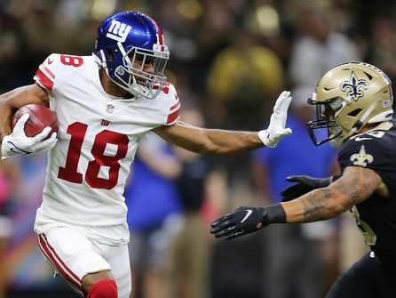 Against all odds verse the Saints, the Giants win an improbable one in overtime.