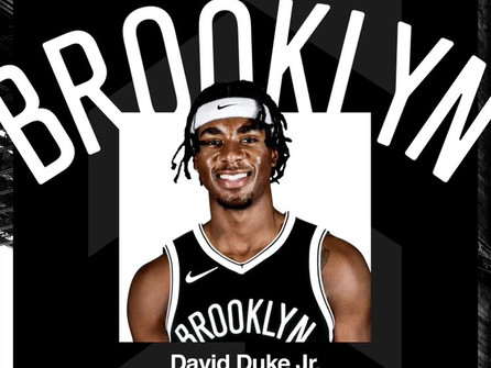 Providence standout finds a home in the NBA. The Brooklyn Nets have signed David Duke Jr.