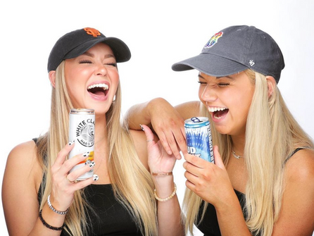 The collab you've been waiting for. Seltzers & Beers. Sarah Griffin & Kendra Middleton join the pod