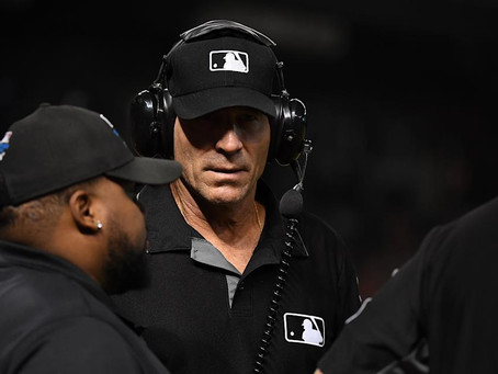 Is the MLB going to figure out this umpire issue or is the game just going to die a slow death?
