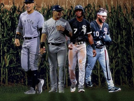 Is Field of Dreams the best baseball movie ever? Plus gambling lines for the Yanks/White Sox game.