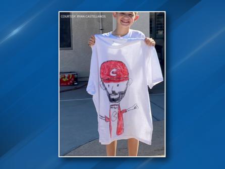Positivity Corner - Reds right fielder Nick Castellanos' son, Liam, is a designer and philanthropist