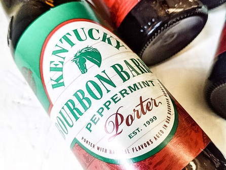 If you want a festive beer, Kentucky Bourbon Barrel Peppermint Porter should be your go-to
