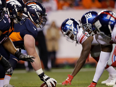 Giant Odds and Prop Bets (Week 1): Underdogs... really?   NYG vs. DEN preview.