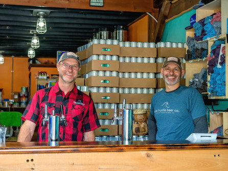 Behind The Brewer; featuring Mike Palmieri and Lee Holyoak of Side Hustle Beer Co.