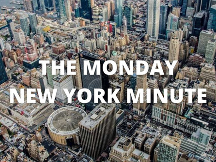 The Monday New York Minute.  Knicks lock up the fourth seed, Islanders win in OT, plus more