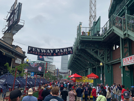 Behind Enemy Lines. A first-hand report of the terrible Yankees loss.