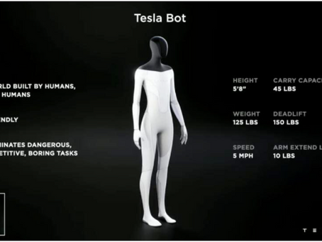 """This is not a drill. Tesla and Elon Musk Reveal a """"Humanoid Tesla Robot""""."""