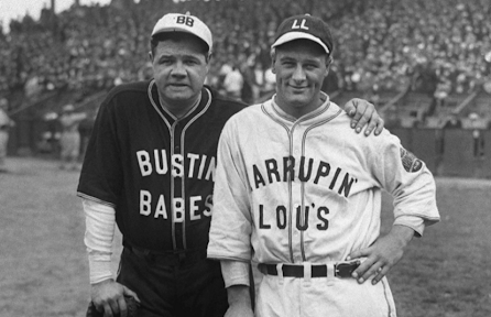On This Day - Rhode Island History: Babe Ruth and Lou Gehrig Play an Exhibition Game in Providence