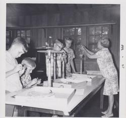 Making Lamps, 1967