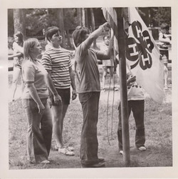 Flag Lowering, 1974