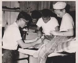 Lake County Jr. Camp, 1955