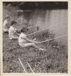 Fishing, 1956