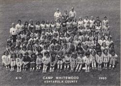 Camp Whitewood, 1980