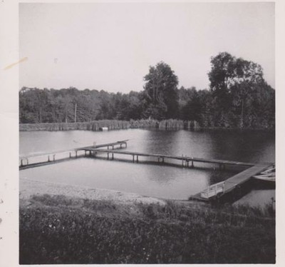 Swimming Area, 1953