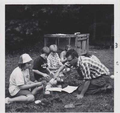 Making Terrariums, 1967