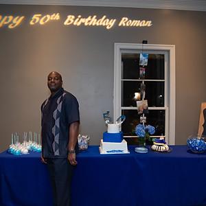 Roman Banks 50th Birthday Party