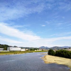今日の大和川。