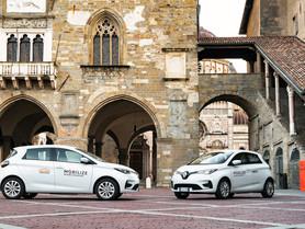 Mobilize sbarca sul mercato: si inizia da Bergamo con il car sharing elettrico di Renault Zoe