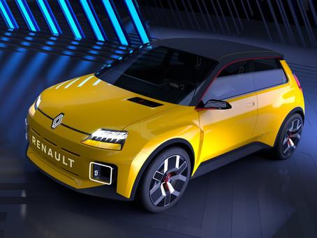 Renault 5 Prototype anticipa l'erede elettrica della R5