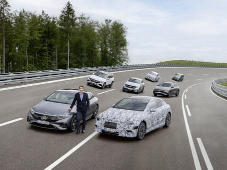 Anche Mercedes è pronta a diventare solo elettrica entro il 2030