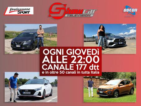 Tanta adrenalina e nuovi modelli vi aspettano su ShowcarTV