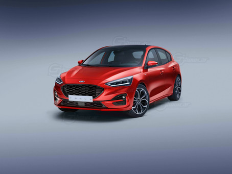 Ford Focus restyling 2022: il Rendering di Showcar