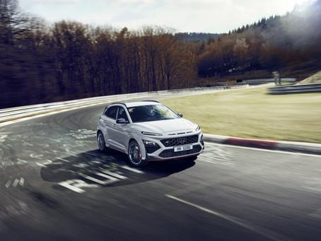 Hyundai Kona N: foto e caratteristiche del SUV compatto sportivo da 280 CV