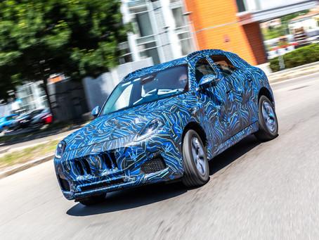 Maserati Grecale: si va al 2022