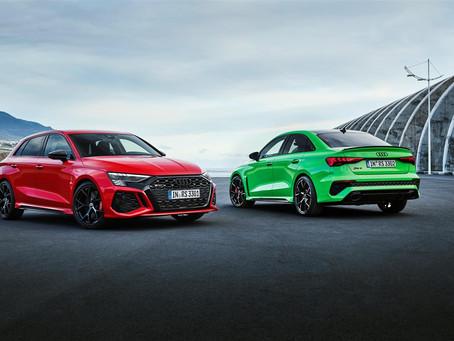 Audi RS 3 2021: più coppia e drift mode per la sportiva 5 cilindri da 400 CV