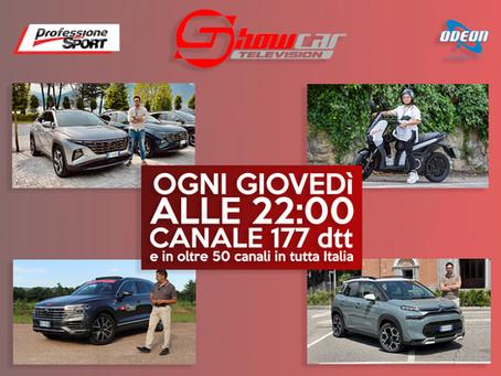 Novità a due e quattro ruote nella nuova puntata di ShowcarTV
