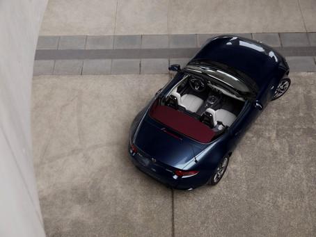 Mazda MX-5 2021 disponibile in Italia con CarPlay wireless e nuovi colori